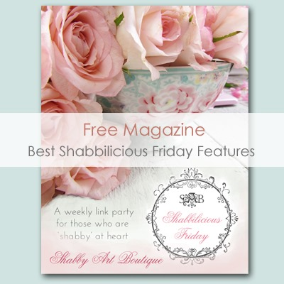Shabby Art Boutique - Shabbilicious Friday Features Magazine
