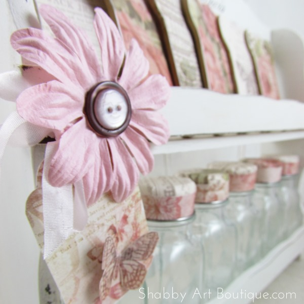 Shabby Art Boutique - Spice rack 2