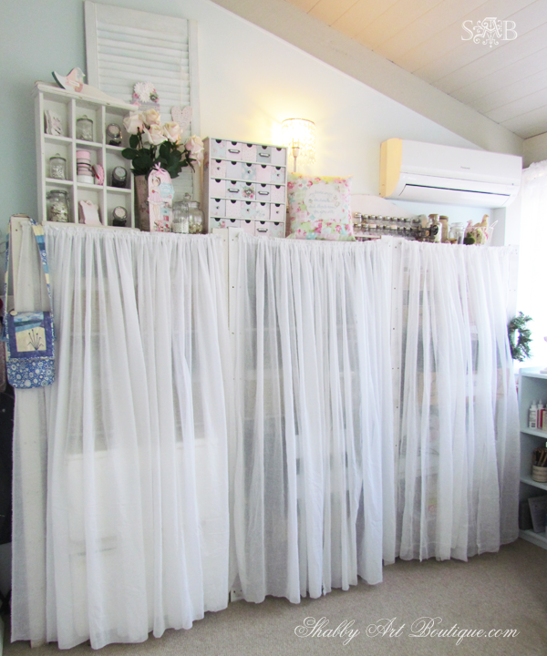Shabby Art Boutique - craft room 1