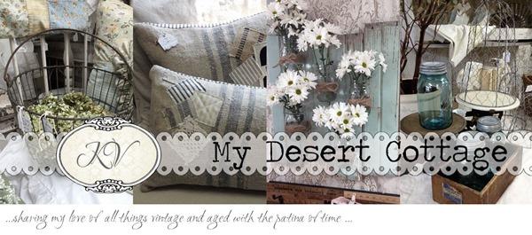 blog header My Desert Cottage