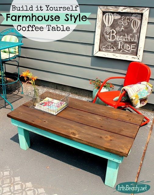 build it yourself farmhouse style coffee table artisbeauty.net karin chudy diy painted furniture