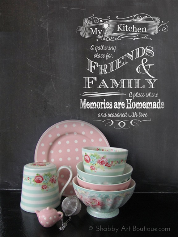 5 Chalkboard Tips And A Free Printable Shabby Art Boutique