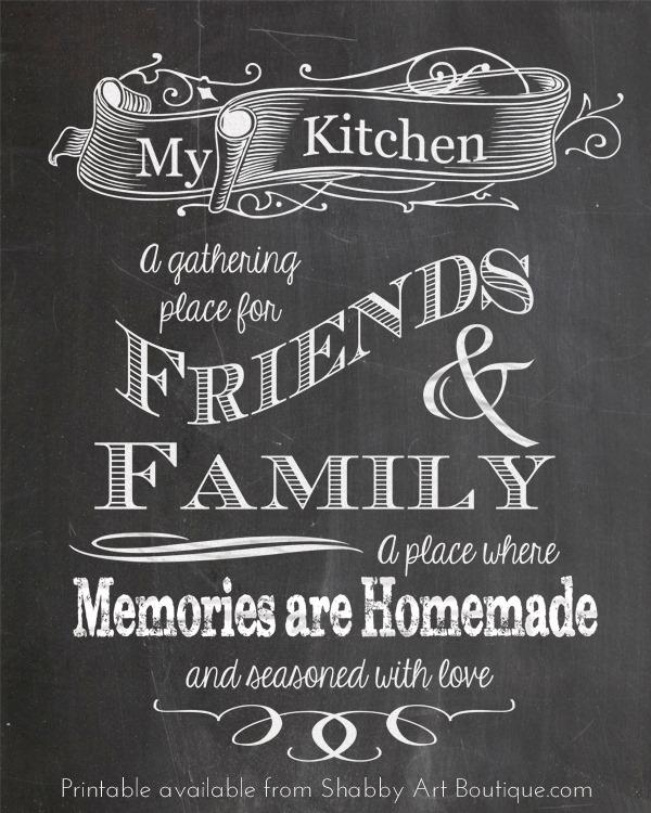 Home Design Ideas Blackboard: 5 Chalkboard Tips And A Free Printable!