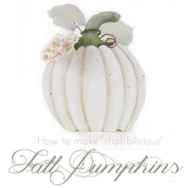 How to make shabbilicious pumpkins