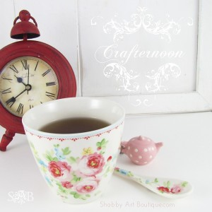 A 'crafternoon' Tea