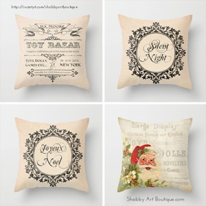 Shabby Art Boutique - A Very Vintage Christmas Collection - Society 6