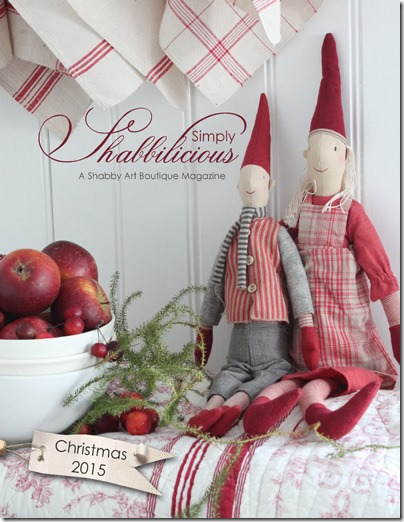 Shabby Art Boutique - Christmas issue of Simply Shabbilicious