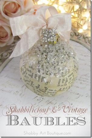 Shabbilicious Vintage Baubles