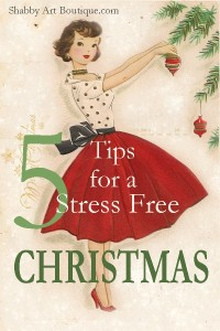 5 tips for a stress free Christmas