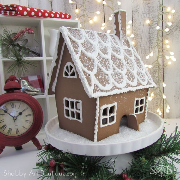 Everlasting Gingerbread House