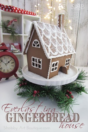 Shabby art Boutique - Everlasting Gingerbread House