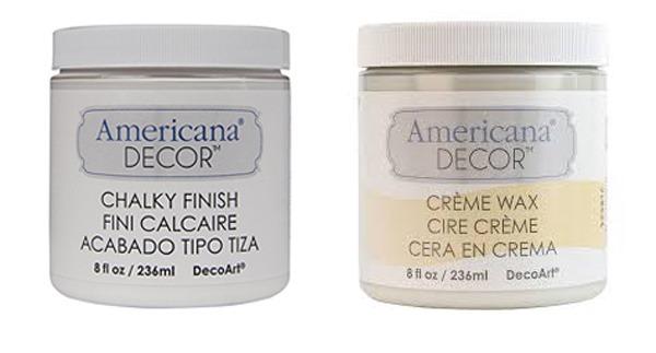 decoart Americana chalky finish paint