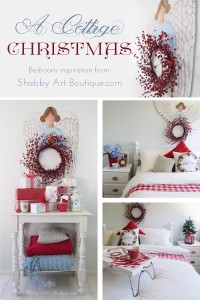 A Cottage Christmas Bedroom