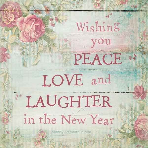 happy new year from shabby art boutique