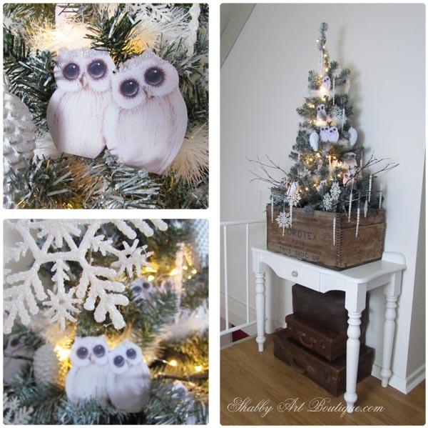 Shabby Art Boutique - A shabbilicious woodland Christmas tree