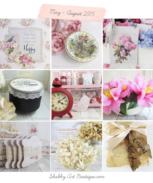 Shabby Art Boutique - a year in review 2