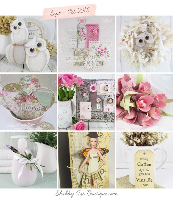 Shabby Art Boutique - a year in review 3