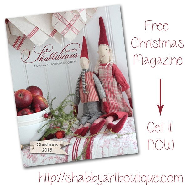 Simply Shabbilicious Christmas magazine - Shabby Art Boutique