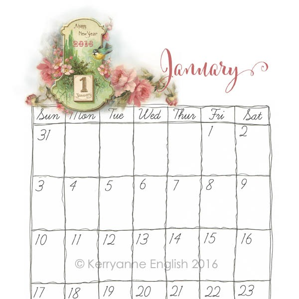 Shabby Art Boutique - 2016 Planner