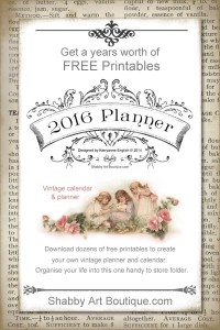 More free printables for the 2016 Planner
