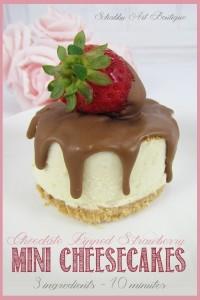 'Cheats' Mini Cheesecakes