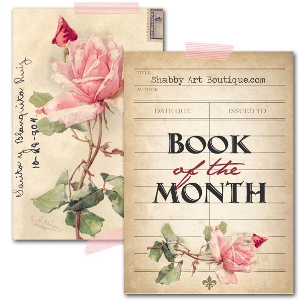 Book of the Month at Shabby Art Boutique