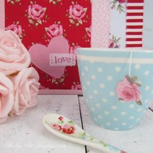 DIY ~ Valentine's Mug Rug