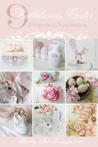9 Shabbilicious Easter DIY Projects & Inspiration