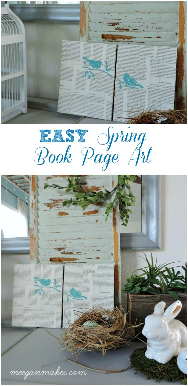 EASY-Spring-Book-Page-Art