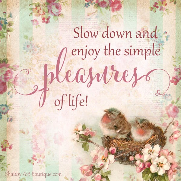 Shabby Art Boutique quote