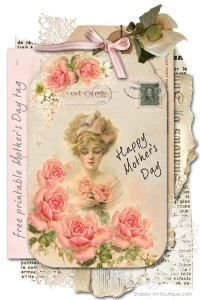 A Mother's Day tag for you!