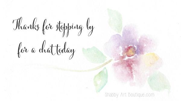 Shabby Art Boutique - watercolour
