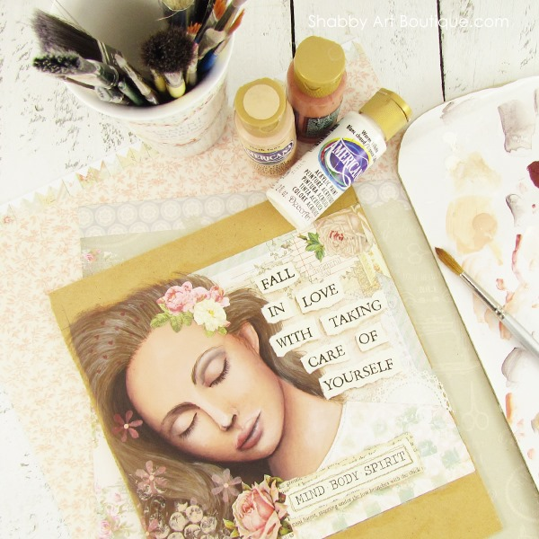 Self Care Day by Shabby Art Boutique