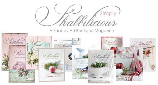 Simply Shabbilicious Magazine by Shabby Art Boutique