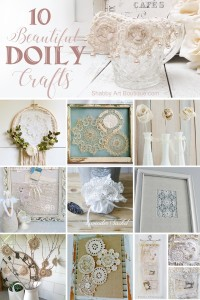 10 Beautiful Doily Craft Projects To Make