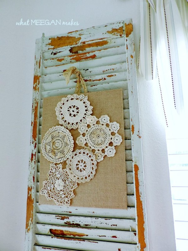 10 Beautiful Doily Craft Projects To Make Shabby Art