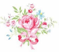 Greengate floral motif