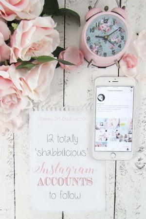 My 12 favourite shabbilicious Instagram Accounts to follow