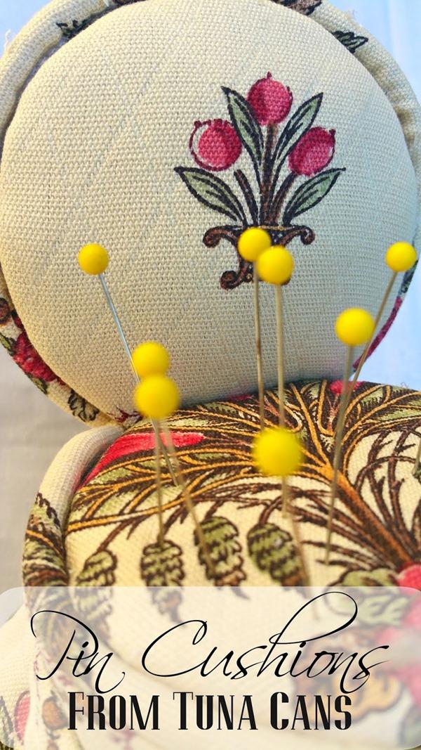 title photo redoit tuna can pin cushions