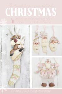 A Handmade Shabby Pastel Christmas
