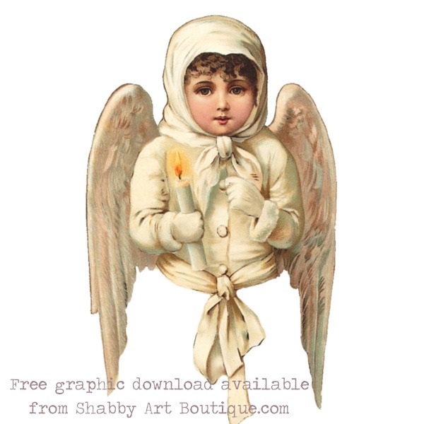 Clcik to get the free printabel download from Shabby Art Boutique, plus the full step-by-step instructiosn for making the Victorian Ribbon Angels.