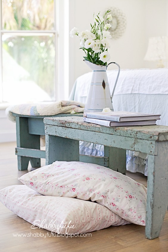shabby-chic-bedrooms - as featured on Shabbilicious Sunday for Shabby Art Boutique. Click now to visit Shabby Art Boutique for more or PIN to visit later.