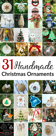 31 Handmade Christmas Ornament from 31 Days of Handmade Christmas Ornaments BLOG HOP