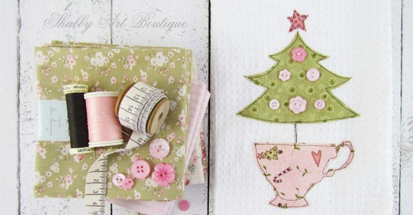 Handmade Christmas gift tutorial by Shabby Art Boutique