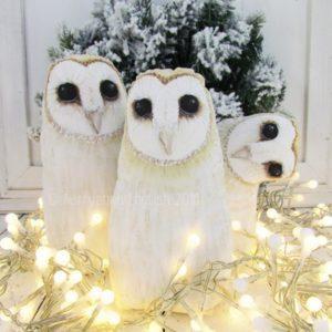 Barn Owl Pattern