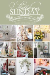 Shabbilicious Sunday – Christmas Decorating