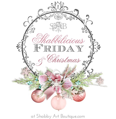 Shabby Art Boutique - Shabbilicious Friday & Christmas Link party