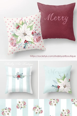 Society6 new items by Shabby Art Boutique