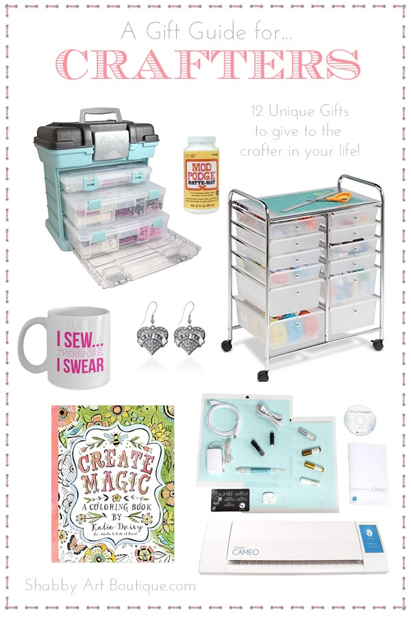 A Gift Guide for Crafters by Shabby Art Boutique