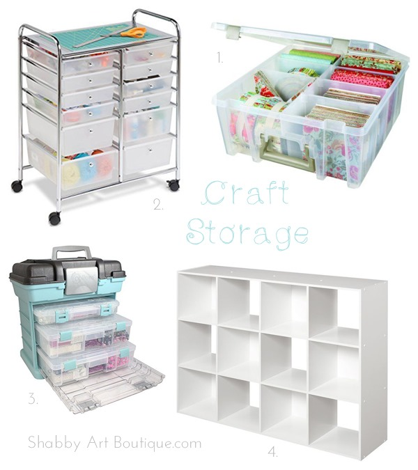 Gift Guide for Crafters - Craft Storage I Shabby Art Boutique